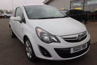 USED 2013 13 VAUXHALL CORSA 1.4 SXI 3d 98 BHP LOW DEPOSIT OR NO DEPOSIT FINANCE AVAILABLE.