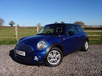 USED 2012 62 MINI HATCH COOPER 1.6 COOPER D 3d 112 BHP PEPPER PACK + FULL MINI SERVICE HISTORY