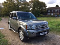 2010 LAND ROVER DISCOVERY 3.0 4 TDV6 HSE 5d AUTO 245 BHP £20990.00