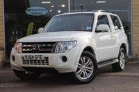 2014 MITSUBISHI SHOGUN 3.2 DI-D 4WORK SG2 1d AUTO 197 BHP £16995.00