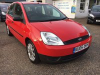 USED 2005 05 FORD FIESTA 1.2 FIREFLY 5d 74 BHP ** NOW SOLD ** NOW SOLD **