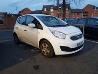 USED 2011 61 KIA VENGA 1.4 CRDI 1 ECODYNAMICS 5d 89 BHP WITH AIR CONDITIONING!!..EXCELLENT FUEL ECONOMY!!..LOW CO2 EMISSIONS...£30 ROAD TAX!!..FULL HISTORY...ONLY 30763 MILES FROM NEW!!