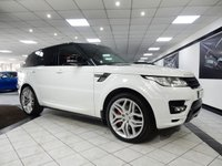 USED 2015 64 LAND ROVER RANGE ROVER SPORT 3.0 SDV6 AUTOBIOGRAPHY DYNAMIC AUTO DEPLOY STEPS STEALTH PK SLIDE PAN ROOF