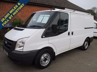 2010 FORD TRANSIT 300s SWB ONLY 28,000 MILES FROM BT WITH HISTORY £6945.00