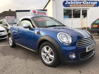 USED 2013 13 MINI COUPE 1.6 COOPER 2d 120 BHP Low miles, Pepper pack, Cruise control, £1850 extras