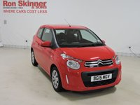 USED 2015 15 CITROEN C1 1.0 FEEL 3d 68 BHP