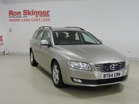 USED 2014 64 VOLVO V70 2.0 D4 BUSINESS EDITION 5d 178 BHP