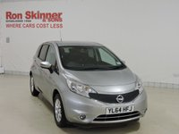 USED 2015 64 NISSAN NOTE 1.2 ACENTA 5d 80 BHP