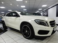 USED 2014 14 MERCEDES-BENZ GLA-CLASS GLA220 CDI 4MATIC AMG LINE PREMIUM PLUS AUTO 170 BHP NIGHT PK FULL LTHR COMAND NAV