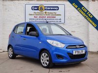 USED 2011 11 HYUNDAI I10 1.2 CLASSIC 5d 85 BHP Comprehensive History £20 Tax 0% Deposit Finance Available
