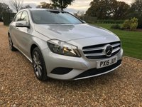 USED 2015 15 MERCEDES-BENZ A CLASS 1.5 A180 CDI BLUEEFFICIENCY SPORT 5d AUTO 109 BHP LEATHER, BLUETOOTH
