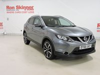 USED 2017 66 NISSAN QASHQAI 1.5 DCI TEKNA 5d 108 BHP with Panoramic Glass Roof