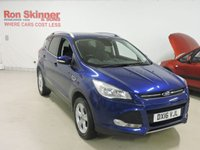 USED 2016 16 FORD KUGA 2.0 ZETEC TDCI 5d 148 BHP with Appearance Pack