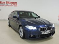 USED 2015 65 BMW 5 SERIES 2.0 520D M SPORT 4d AUTO 188 BHP  with Enhanced Bluetooth + Reversing Camera + More (See Stock Comments)