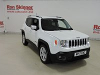 USED 2017 17 JEEP RENEGADE 1.6 M-JET LIMITED 5d 118 BHP