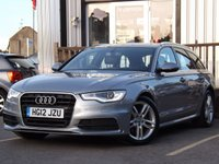 USED 2012 12 AUDI A6 2.0 AVANT TDI S LINE 5d 175 BHP 4 SERVICE HISTORY STAMPS .SUPERB CONDITION, ECONOMY, POWER, SPACE & FANTASTIC VALUE