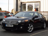 USED 2011 61 HONDA ACCORD 2.2 I-DTEC EX 4d AUTO 148 BHP Nice family car with FULL SERVICE HISTORY, Loads of spec and Long MOT until Sept 18. All in fantastic condition.
