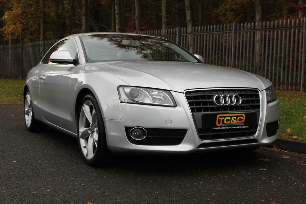 USED 2008 AUDI A5 1.8 TFSI SPORT 2d 170 BHP A WELL MAINTAINED A5 WITH FULL BLACK LEATHER INTERIOR AND A COMPREHENSIVE SERVICE HISTORY!!!