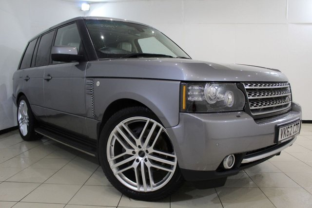 View our 2012 62 LAND ROVER RANGE ROVER 4.4 TDV8 WESTMINSTER 5DR 313 BHP