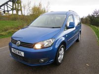 USED 2012 12 VOLKSWAGEN CADDY MAXI 1.6 C20 LIFE TDI 5d 101 BHP CHOICE OF 2 GREAT VEHICLES