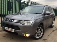 USED 2013 13 MITSUBISHI OUTLANDER 2.3 DI-D GX 4 5d 147 BHP 7 SEATER SAT NAV SUNROOF LEATHER ONE OWNER FSH NO FINANCE REPAYMENTS FOR 2 MONTHS STC. 4WD. 7 SEATER. SATELLITE NAVIGATION. SUNROOF. STUNNING GREY MET WITH FULL BLACK LEATHER TRIM. ELECTRIC HEATED SEATS. CRUISE CONTROL. 18 INCH ALLOYS. COLOUR CODED TRIMS. PRIVACY GLASS. REVERSING CAMERA. BLUETOOTH PREP. AIR CON. R/CD PLAYER. 6 SPEED MANUAL. MFSW. MOT 11/18. ONE OWNER FROM NEW. FULL SERVICE HISTORY. FCA FINANCE APPROVED DEALER. TEL 01937 849492