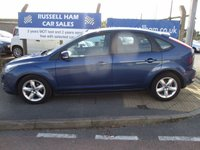 USED 2009 59 FORD FOCUS 1.6 ZETEC 5d 100 BHP 8 Stamps of Service History - Spare Key and Book Pack - 1 Former Keeper - New MOT & Full Service Done on purchase + 2 Years FREE Mot & Service Included After . 3 Months Russell Ham Quality Warranty . All Car's Are HPI Clear . Finance Arranged - Credit Card's Accepted . for more cars www.russellham.co.uk