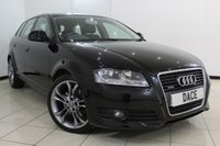 USED 2008 58 AUDI A3 2.0 TDI QUATTRO SPORT 5DR 168 BHP FULL SERVICE HISTORY + PARKING SENSOR + MULTI FUNCTION WHEEL + RADIO/CD + AUXILIARY PORT + CLIMATE CONTROL + 17 INCH ALLOY WHEELS