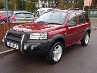 2003 LAND ROVER FREELANDER 2.5 V6 ES PREMIUM STATION WAGON 5dr, AUTOMATIC £2190.00