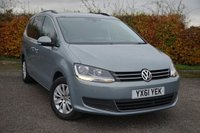 USED 2011 61 VOLKSWAGEN SHARAN 2.0 SE TDI BLUEMOTION TECHNOLOGY 5d * BLUETOOTH * SATELLITE NAVIGATION * 7 SEATER *
