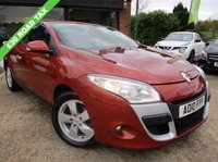 USED 2010 10 RENAULT MEGANE 1.5 DYNAMIQUE TOMTOM DCI 3d 106 BHP SAT NAV, £30 ROAD TAX, ALLOYS, AIR CONDITIONING, FULL SERVICE HISTORY