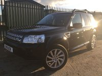 USED 2011 11 LAND ROVER FREELANDER 2 2.2 SD4 HSE 5d AUTO 190 BHP SAT NAV PAN ROOF LEATHER FSH NO FINANCE REPAYMENTS FOR 2 MONTHS STC. FACELIFT MODEL 4WD. SATELLITE NAVIGATION. PANORAMIC SUNROOF. STUNNING BLACK MET WITH FULL BLACK LEATHER TRIM. ELECTRIC MEMORY HEATED SEATS. CRUISE CONTROL. 19 INCH ALLOYS. COLOUR CODED TRIMS. PRIVACY GLASS. PARKING SENSORS. BLUETOOTH PREP. CLIMATE CONTROL. TRIP COMPUTER. R/CD/MP3 PLAYER. MFSW. ROOF RAILS. MOT 11/18. FULL SERVICE HISTORY. FCA FINANCE APPROVED DEALER. TEL 01937 849492.