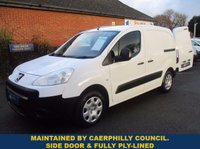 2011 PEUGEOT PARTNER 625 S DIRECT FROM CAERPHILLY COUNTY COUNCIL £3945.00