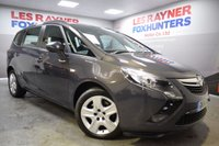 USED 2014 14 VAUXHALL ZAFIRA TOURER 2.0 EXCLUSIV CDTI 5d AUTO 162 BHP Full Vauxhall Service History, 1 Owner, Cruise, Park sensors