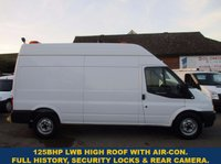 2013 FORD TRANSIT 125 350 LWB HIGH ROOF WITH AIR-CON & FULL HISTORY £6245.00