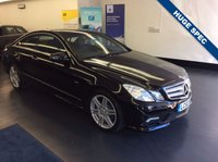 USED 2011 MERCEDES-BENZ E CLASS 3.0 E350 CDI BLUEEFFICIENCY SPORT 2d AUTO 231 BHP STUNNING MERCEDES E CLASS COUPE. FULL MERCEDES SERVICE HISTORY,  OVER £6,000 WORTH OF EXTRAS