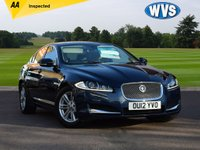 2012 JAGUAR XF 2.2 D LUXURY 4d 190 BHP £12999.00