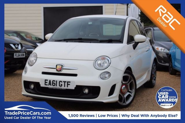 View our 2011 61 ABARTH 500 1.4 ABARTH 3d 135 BHP