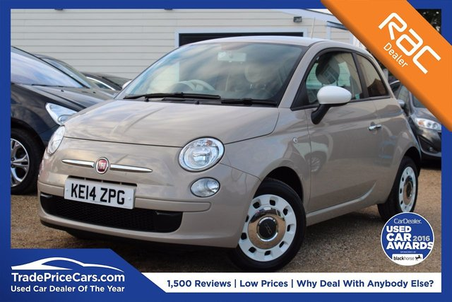 View our 2014 14 FIAT 500 1.2 COLOUR THERAPY 3d 69 BHP