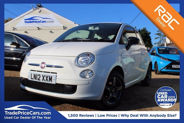 View our 2012 12 FIAT 500 1.2 POP 3d 69 BHP