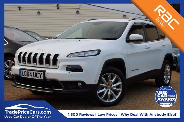 View our 2014 64 JEEP CHEROKEE 2.0 M-JET LIMITED 5d AUTO 168 BHP