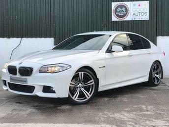 2011 BMW 5 SERIES 2.0 520D M SPORT 4d 181 BHP £11995.00