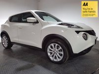 USED 2014 64 NISSAN JUKE 1.5 TEKNA DCI 5d 110 BHP FULL NISSAN SERVICE HISTORY - ONE OWNER - FULL LEATHER - BLUETOOTH - REAR PARKING CAMERA - NAV