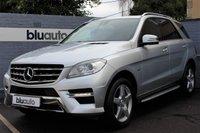 2012 MERCEDES-BENZ ML 350 3.0 CDi BLUETEC SPORT 5d AUTO 258 BHP £22500.00