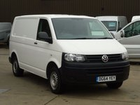 USED 2014 64 VOLKSWAGEN TRANSPORTER 2.0TDi T28 STARTLINE 102 BHP / TAILGATE - ELECTRICS NATIONWIDE DELIVERY AVAILABLE