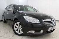 USED 2012 12 VAUXHALL INSIGNIA 2.0 SRI NAV CDTI ECOFLEX S/S 5DR 157 BHP SERVICE HISTORY + TIMING BELT REPLACED AT 100.000 MILES + SAT NAVIGATION + CRUISE CONTROL + MULTI FUNCTION WHEEL + CLIMATE CONTROL + 17 INCH ALLOY WHEELS