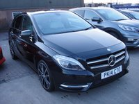 USED 2014 14 MERCEDES-BENZ B CLASS 1.5 B180 CDI BLUEEFFICIENCY SPORT 5d AUTO 107 BHP ANY PART EXCHANGE WELCOME, COUNTRY WIDE DELIVERY ARRANGED, HUGE SPEC