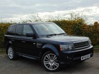 USED 2009 59 LAND ROVER RANGE ROVER SPORT 3.0 TDV6 HSE 5d * FULL HEATED LEATHER INTERIOR * SATELLITE NAVIGATION *