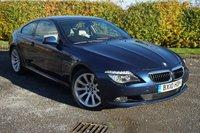USED 2010 10 BMW 6 SERIES 3.0 635D SPORT 2d AUTOMATIC SATELLITE NAVIGATION*BLUETOOTH