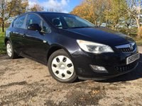 USED 2011 60 VAUXHALL ASTRA 1.4 EXCLUSIV 5d 1 FORMER KEEPER