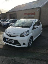2014 TOYOTA AYGO 1.0 VVT-I MOVE WITH STYLE 5d 68 BHP £4995.00